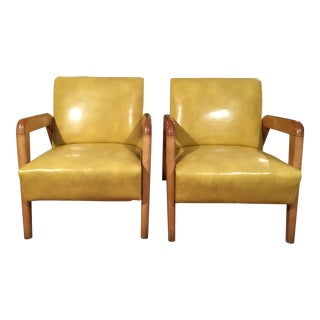 1950s Vintage JB Van Sciver Co. Lounge Chairs - A Pair For Sale