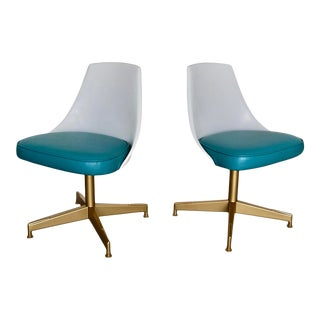 Mid-Century Modern Dining Chairs - a Pair For Sale