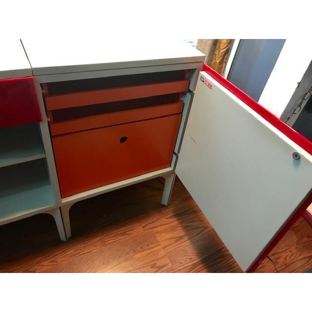 Wood Vintage Raymond Loewy Df2000 Desk For Sale - Image 7 of 11