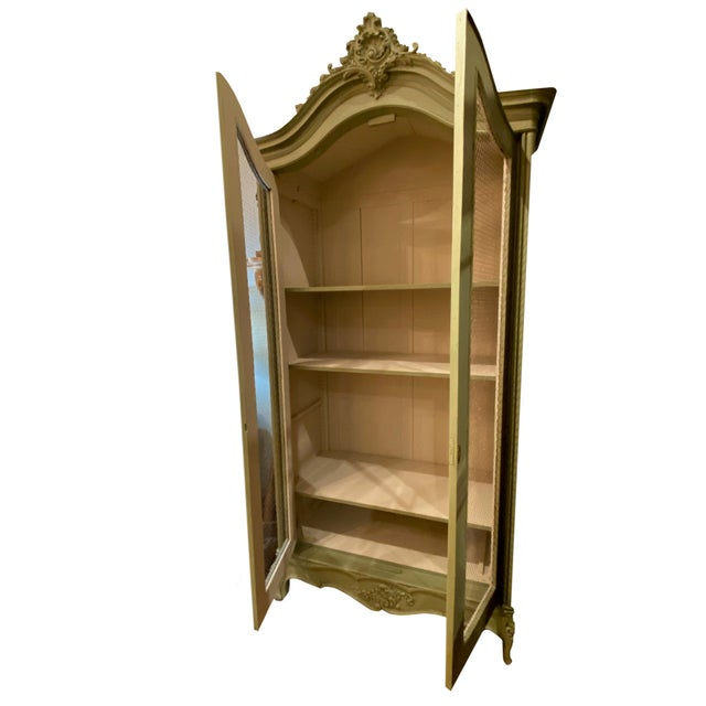 Paint 19th Century French Painted Bonnetiere For Sale - Image 7 of 8