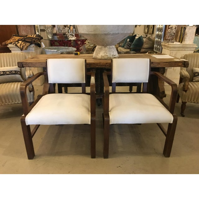 Pair of Mid Century Armchairs For Sale - Image 10 of 10
