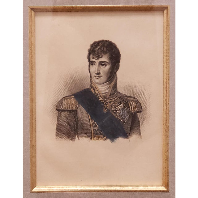 Up for sale is a Circa 1880 French Jerome Bonaparte Portrait Photo-Etching After Engraving by William Read! It measures 13...