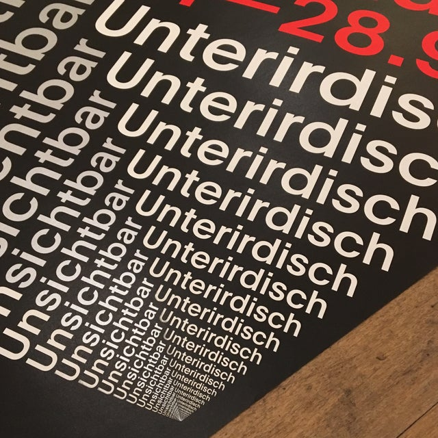 Modern Swiss Helvetica Poster - Image 5 of 6