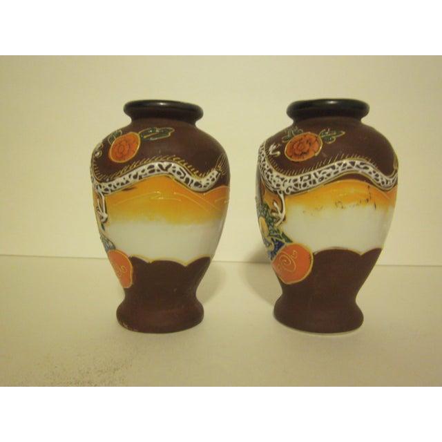 Satsuma Vases & Ginger Jars - Three Pair - Image 5 of 11