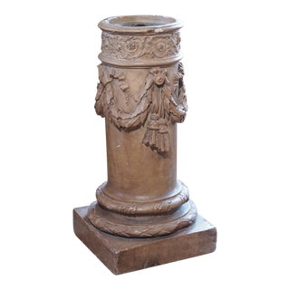 19th Century French Terra Cotta Planter For Sale