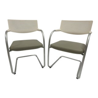 Vitra Visavis Chair - a Pair For Sale