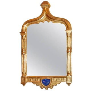 19th Century Painted & Giltwood Mirror