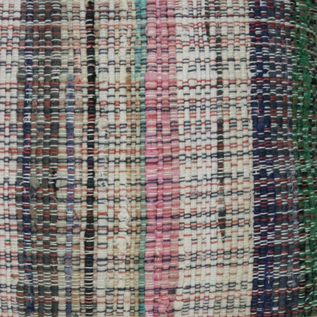"Rug & Relic Cotton Kilim Pillow | 16"" - Image 2 of 2"