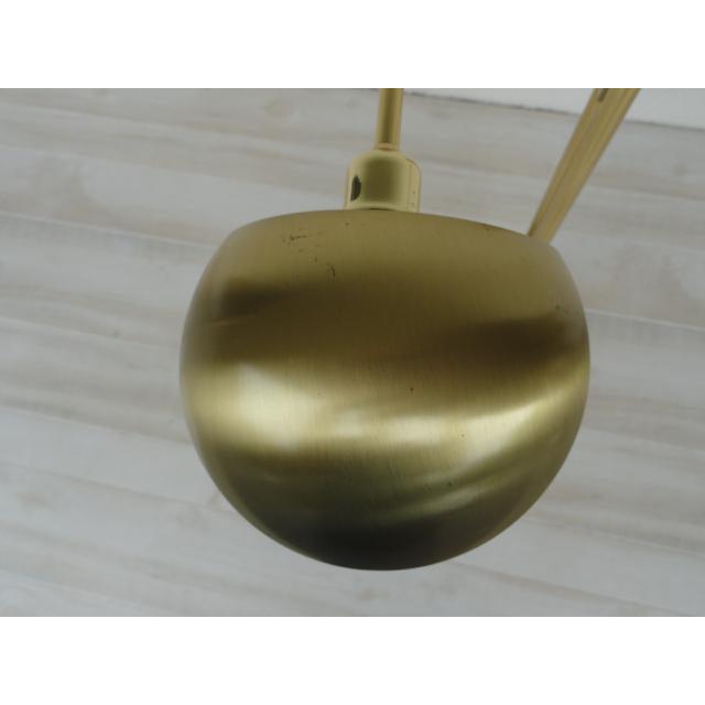 Holtkoetter Brass Dual Swing Arm Floor Lamp | Chairish
