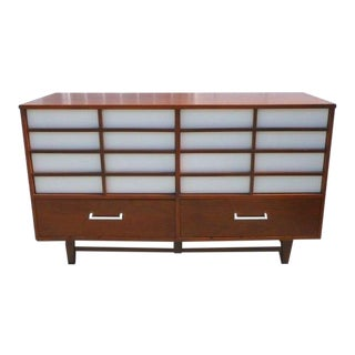 1960s Japanese Mid Century Modern Long Chest For Sale