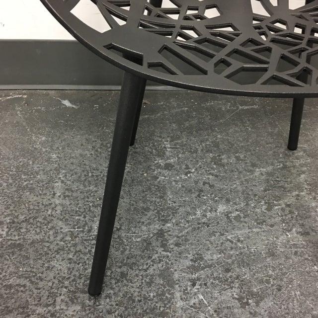 Janus Et Cie Metallic GreyForrest Dining Chair - Set of 4 - Image 7 of 10