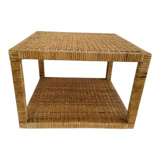 Boho Chic Bielecky Brothers Square Coffee Table For Sale