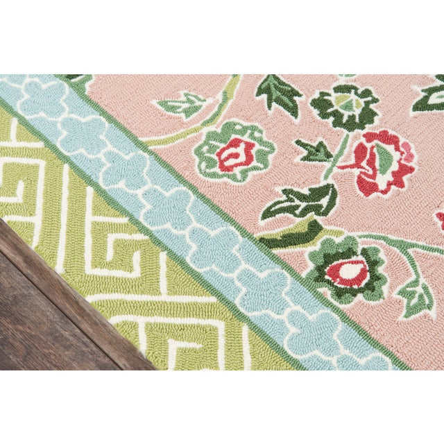 Madcap Cottage Under a Loggia Blossom Dearie Multi Indoor/Outdoor Area Rug 8' X 10' For Sale - Image 4 of 10