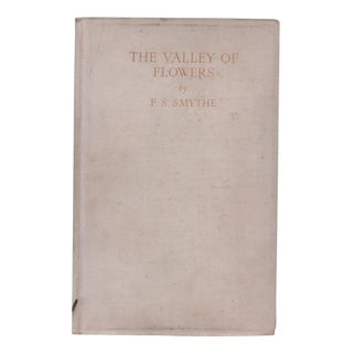 "1938 ""Signed Edition, the Valley of Flowers"" Coffee Table Book For Sale"
