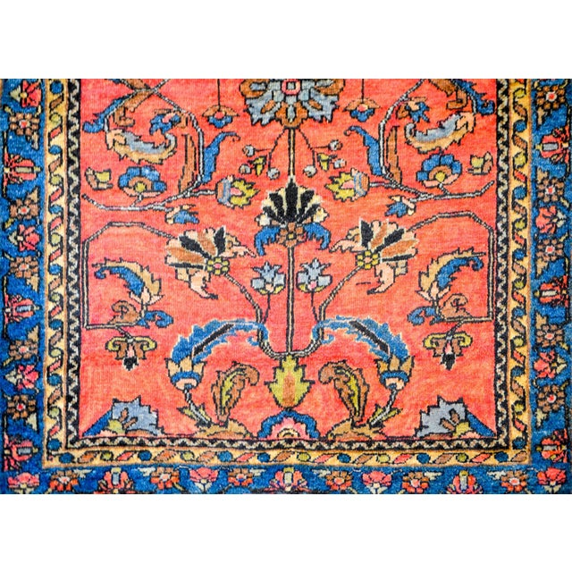 Persian Early 20th Century Lilihan Rug For Sale - Image 3 of 7