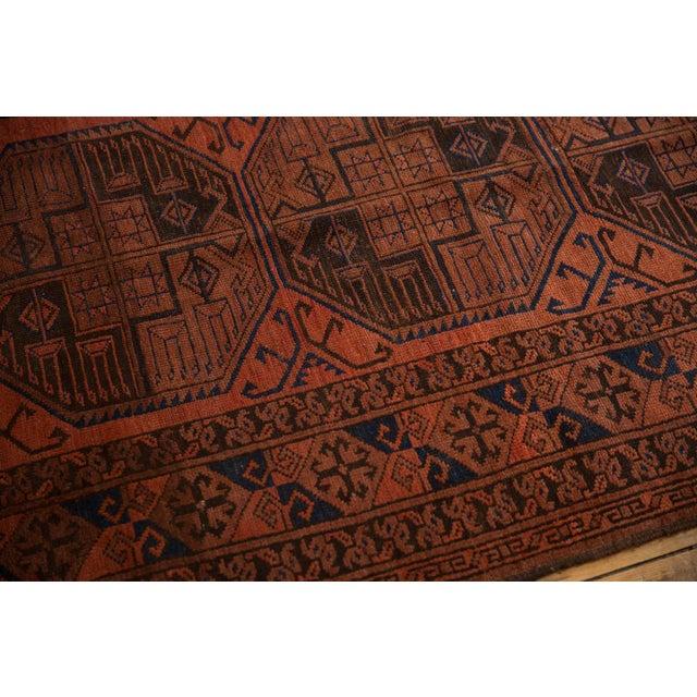 "Vintage Ersari Carpet - 7'6"" X 11'4"" For Sale - Image 10 of 12"