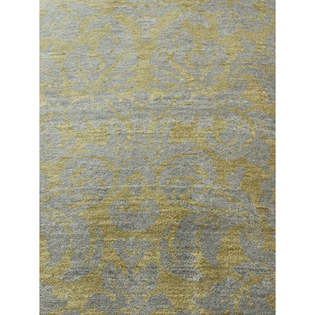 """Hand-Knotted Contemporary Rug - 6'x 9'5"""" - Image 3 of 10"""