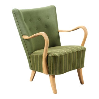 1940s Armchair by Alfred Christensen For Sale