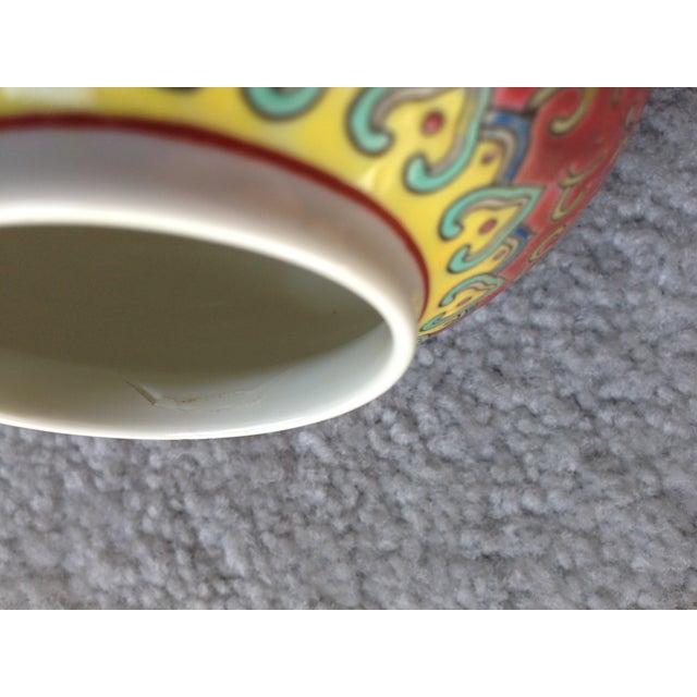 Vintage Chinese Ginger Jar Zhongguo Jingdezhen For Sale - Image 11 of 11