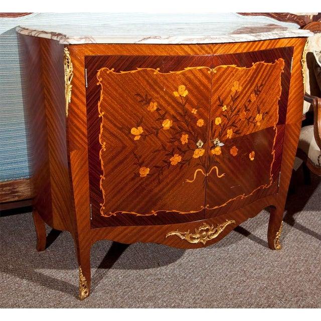 French Style Mahogany Bar Cabinet - Image 2 of 10