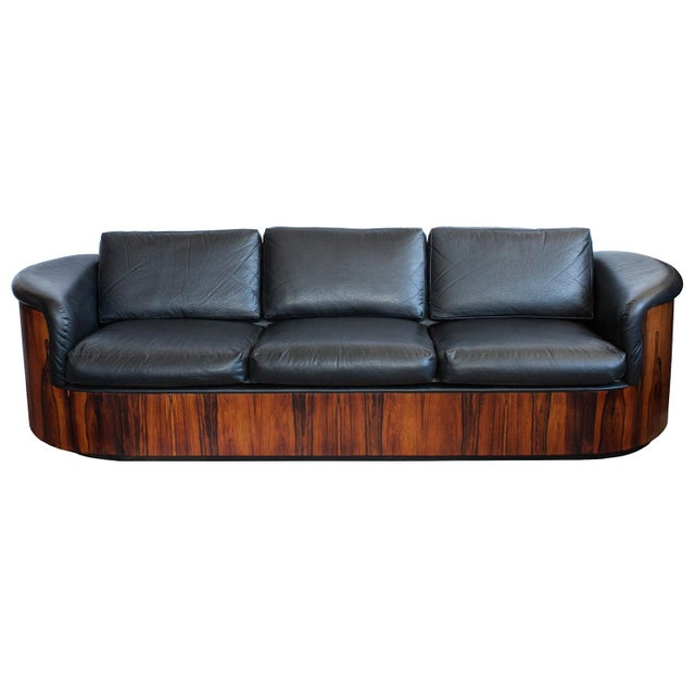 George Mulhauser for Plycraft Rosewood Case Sofa - Image 2 of 11