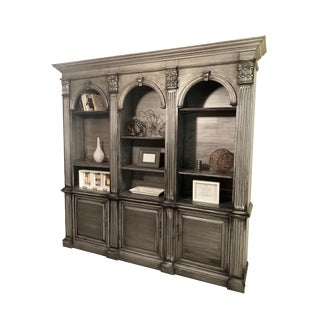 Solid Wood Bookcase Hutch For Sale