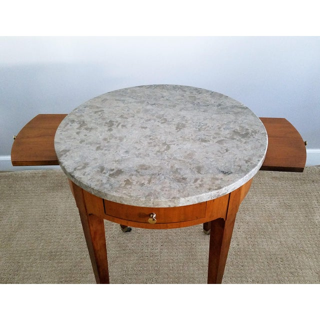 Baker Signature Bouillotte Tables - A Pair - Image 8 of 8