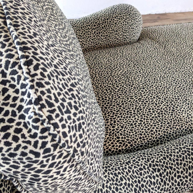 Black Jessica Charles Chaise Lounge For Sale - Image 8 of 10
