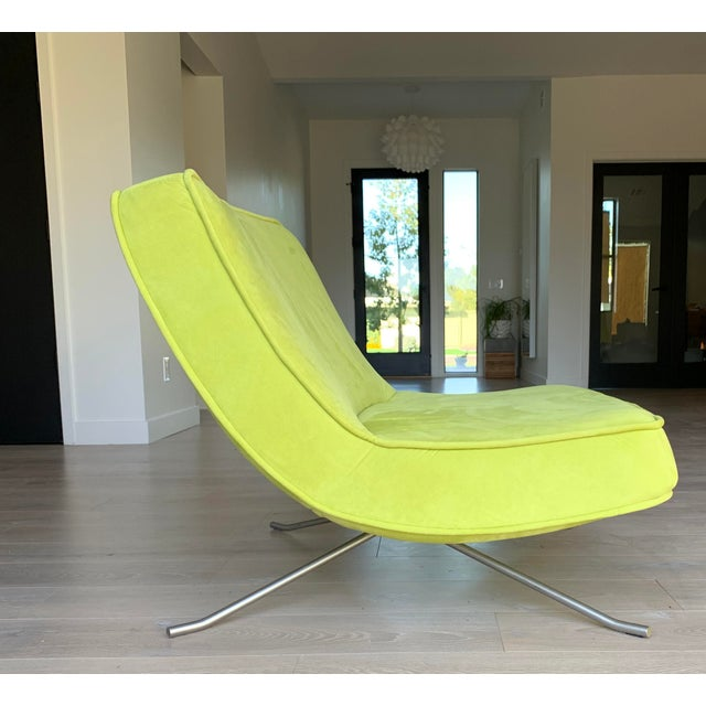 2000 - 2009 Ligne Roset Pop Chair and Ottoman by Christian Werner For Sale - Image 5 of 9