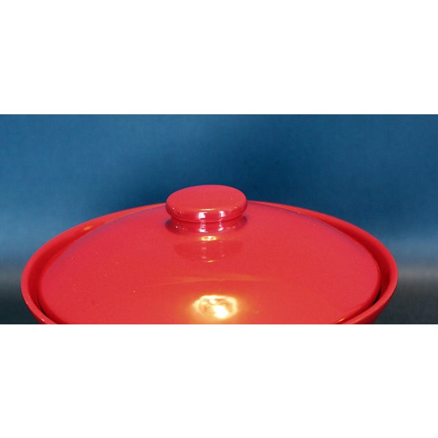 Red Covered Casserole Dish - Image 4 of 5