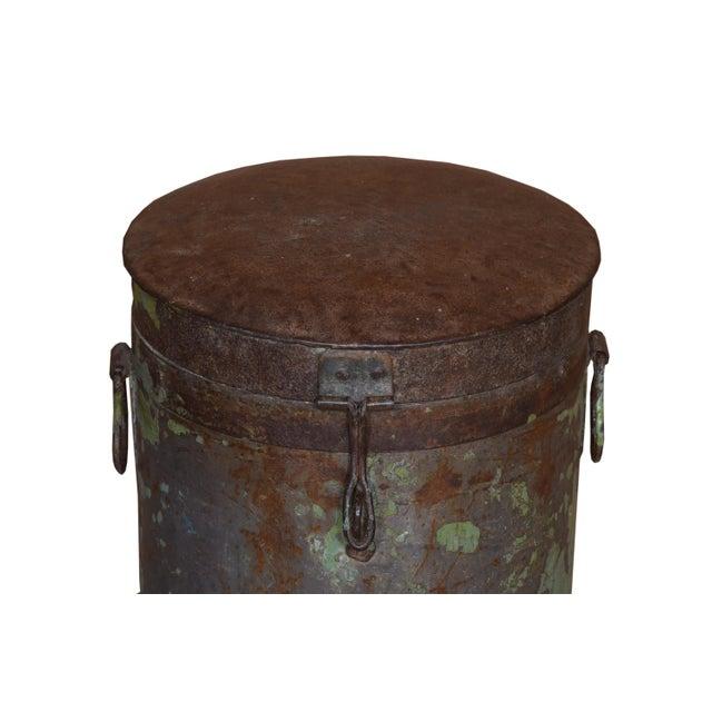 Antique Iron Maarten Pot For Sale - Image 4 of 5