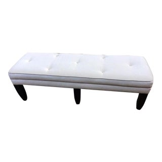 Contemporary Modern Tufted & Upholstered Bench
