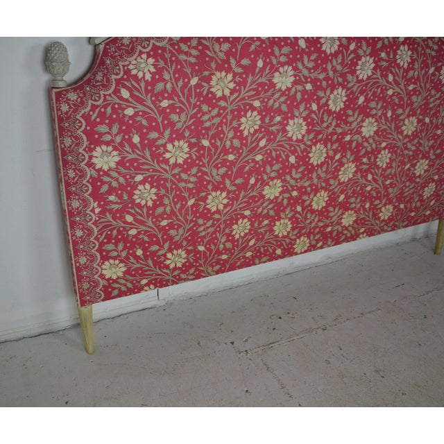 French Louis XVI King Size Bed Headboard For Sale - Image 3 of 7