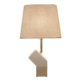 Sculptural Ceramic Circuit Table Lamp For Sale