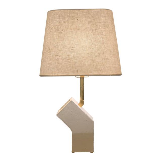 Sculptural Ceramic Circuit Table Lamp For Sale