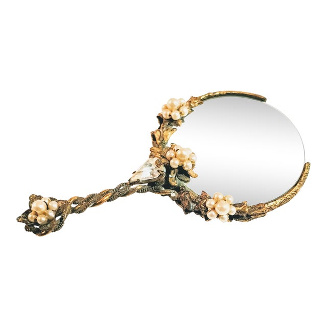 Vintage Victorian Magnifying Glass For Sale