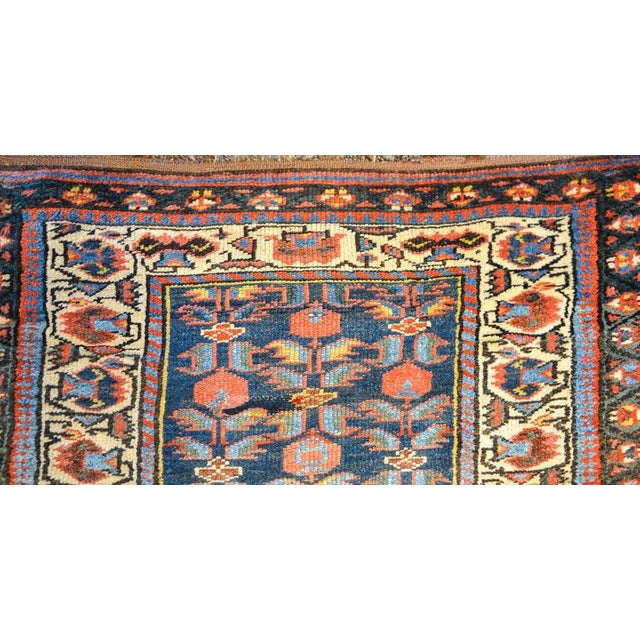 Early 20th Century Kurdish Runner Rug - 3′3″ × 9′6″ For Sale - Image 4 of 6