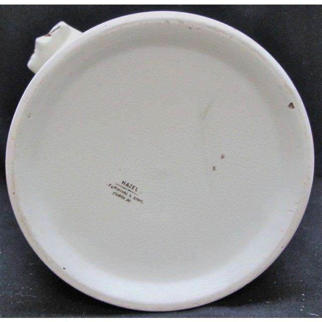 T. Furnival & Sons Brown Hazel 8 Quart Sop Pot Jar and Lid For Sale - Image 9 of 10