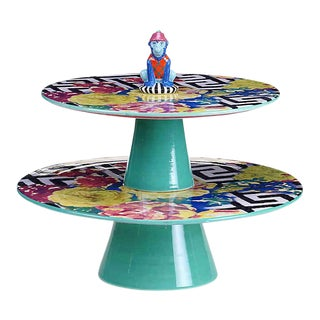 Tracy Porter® Poetic Wanderlust® Reverie 2-Tiered Cake Stand Dessert Tray For Sale