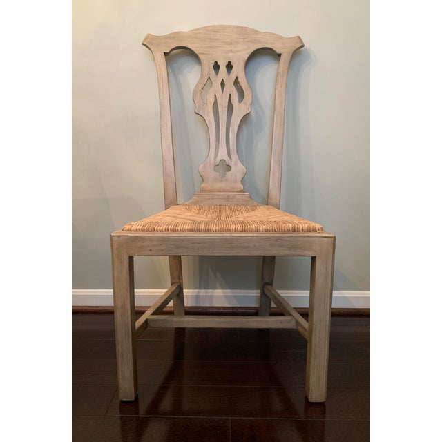Designer English Country Dining Chairs - Set of 6 For Sale - Image 10 of 12