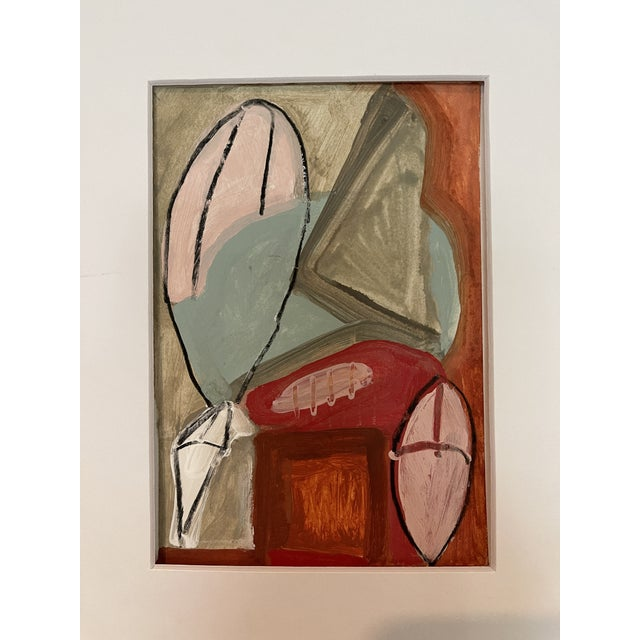 Contemporary Abstract Mixed-Media Painting For Sale - Image 10 of 10