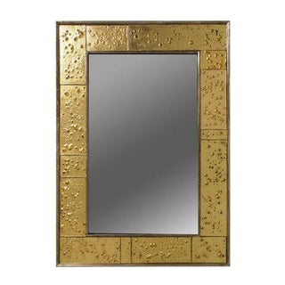 Golden Phase Mirror For Sale