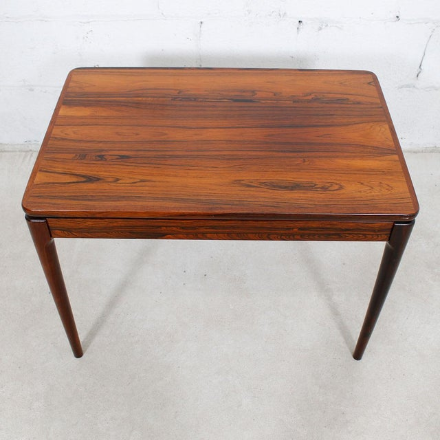 Danish Modern Rosewood Accent/Side Tables - A Pair