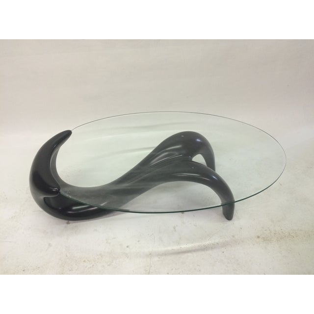 Biomorphic 1980s Coffee Table - Image 4 of 5