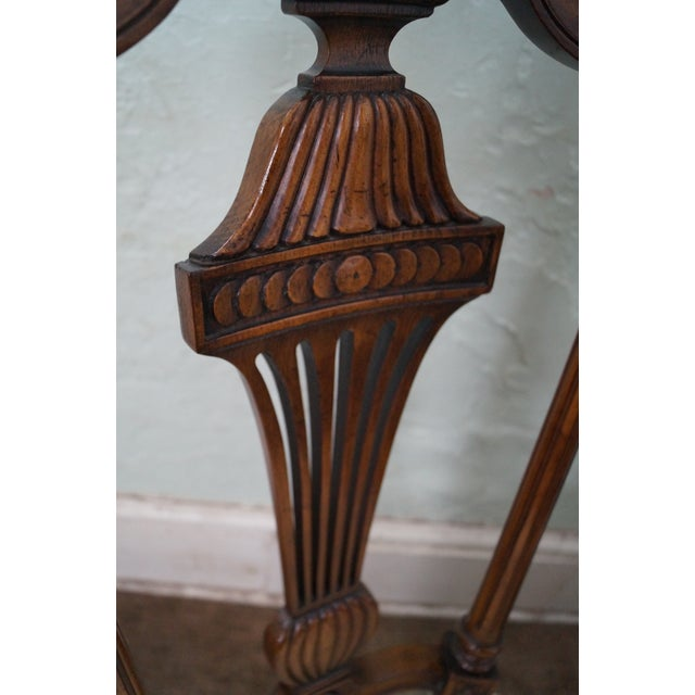 Karges Walnut French Style Walnut Dining Chair - 4 - Image 10 of 10
