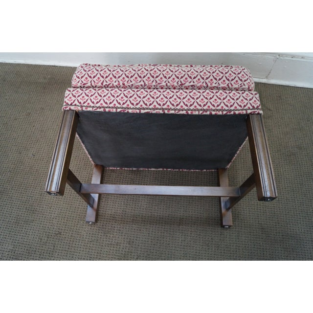 Baker Furniture Co Chippendale Style Ottoman - Image 9 of 10
