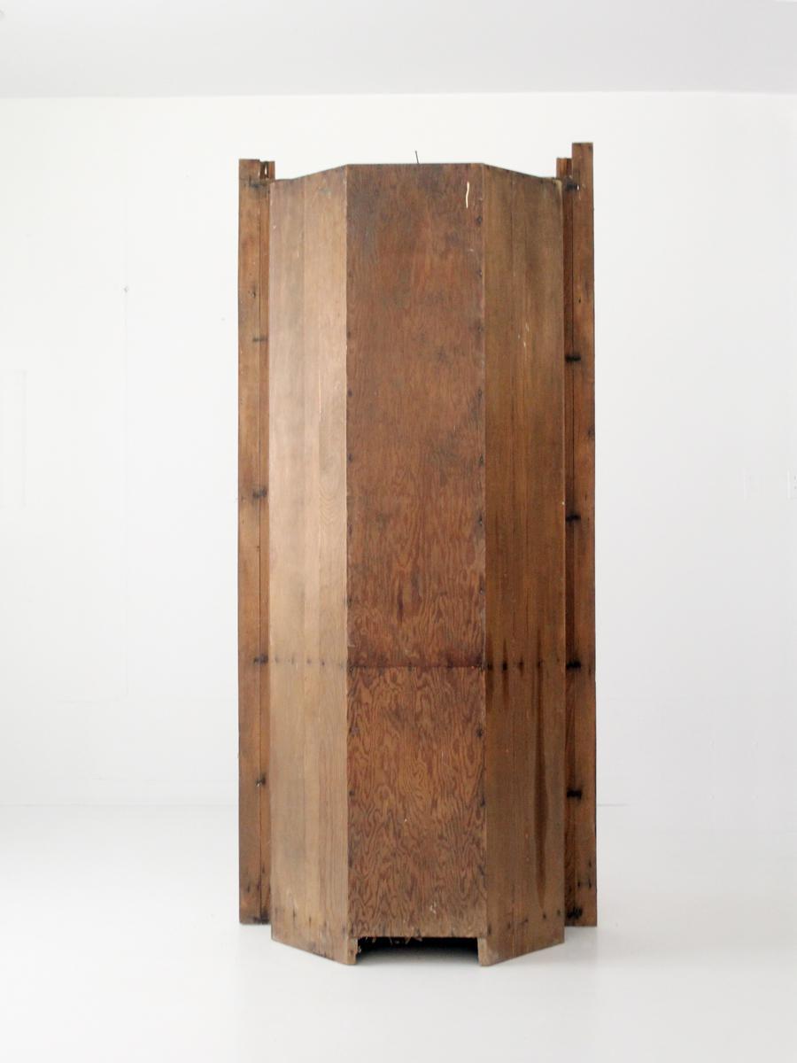 Antique Corner China Cabinet For Sale   Image 5 Of 9