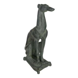 Cast Resin Greyhound Statue For Sale