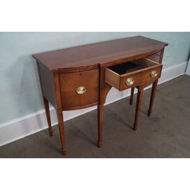 Statton Light Cherry Federal Style Sideboard - Image 5 of 10