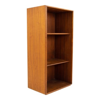 Jens Risom Walnut Bookcase Shelving For Sale
